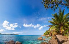 Seychelles, la digue island Stock Photos
