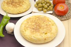 omelette - stock photo