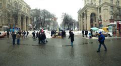 Kiev Independence Square 3 - stock photo