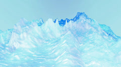 Blue liquid ocean sea water lava magma,spray waves & volcanic activity. - stock footage