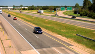 Stock Video Footage of Highway Traffic