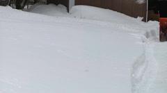 FTG Snow Blow 3 Stock Footage