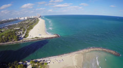 Bal Harbour Beach Stock Footage