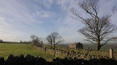 Farmland Scenery in Lancaster Stock Footage