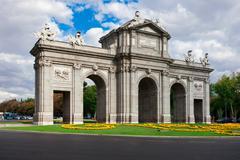Puerta de Alcala Stock Photos
