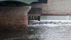 Under the bridge HD Stock Footage