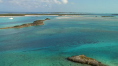 Bahamas Aerials Stock Footage