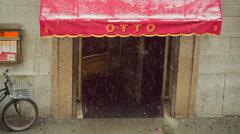 Otto Enoteca Pizzeria Stock Footage