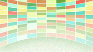 Stock Video Footage of colorful rectangles loopable background