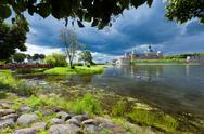 Stock Photo of historical kalmar castle in sweden scandinavia europe. landmark.