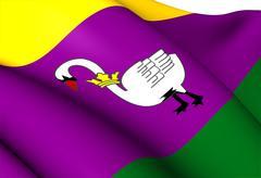 Flag of zijpe Stock Illustration