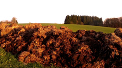 Organic fertilizers. Stock Footage