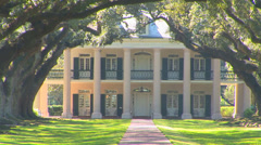 Oak Alley Plantation Stock Footage