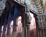 Stock Video Footage of Cathedral of Santiago de Compostela ( 2 cuts )