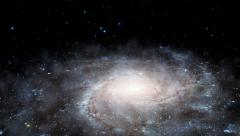 Earth to Galaxy Zoom 1 Stock Footage