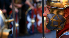 Roman army 83 Stock Footage