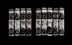 Mass media Stock Illustration