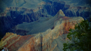 GRAND CANYON VIEW (ZOOM OUT) Stock Footage