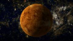 Planet Venus Stock Footage