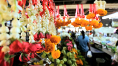 Asian market, Phuket, Thailand, Asia Stock Footage