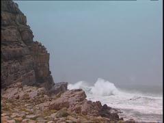 Storm Waves SA 04 Stock Footage
