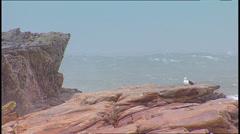 Storm Waves SA 03 - stock footage
