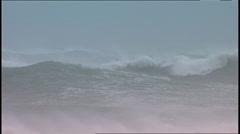 Storm Waves SA 01 Stock Footage