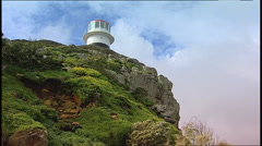Lighthouse Cape of Good Hope SA 08 Stock Footage