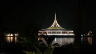 Stock Video Footage of Rama ix park festival 2013 -Conference Centre - (94)