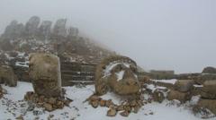 Mount Nemrut Stock Footage