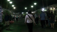 Stock Video Footage of Rama ix park festival 2013 - Night market (82)