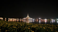 Rama ix park festival 2013 -Conference Centre (100-1) - stock footage