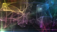 Smokey and lights texture. Stock Footage