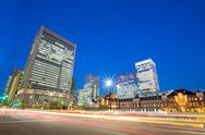 Stock Photo of office tokyo station japan