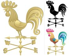 Weather Vane Stock Illustration