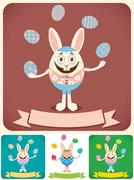 Easter Card 2 - stock illustration