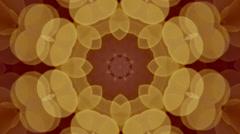Vintage kaleidoscope Stock Footage