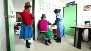 Stock Video Footage of Medical Centre. Rural Ecuador