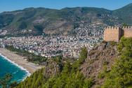 Stock Photo of habor of alanya