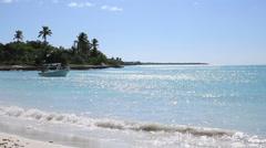 Island Saona (raw) - stock footage
