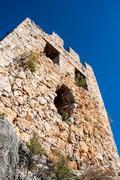 Stock Photo of castle of alanya