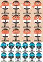Stock Illustration of Character Emotions 2