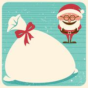 Christmas Card 3 - stock illustration