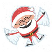 Christmas Card 5 Stock Illustration