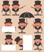Gentleman - stock illustration