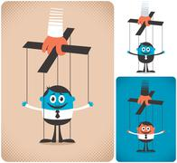 Puppet Stock Illustration