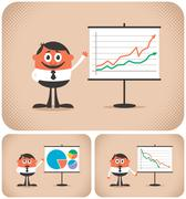 Presentation - stock illustration