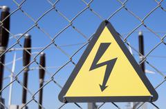 Sähköiskun vaara Kuvituskuvat