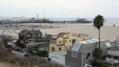 United States of America, USA, California, Santa Monica 2 Stock Footage