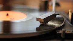 Gramophone Stock Footage